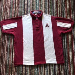 🔥🔥🐘 VINTAGE Alabama Crimson Tide Polo 🔥🔥